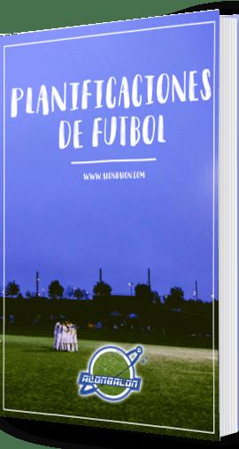Libro Planificaciones de fútboll Alonbalon